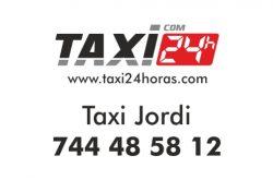taxi jordi 24 horas lebrija