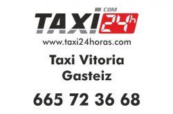 taxi vitoria gasteiz 24 horas